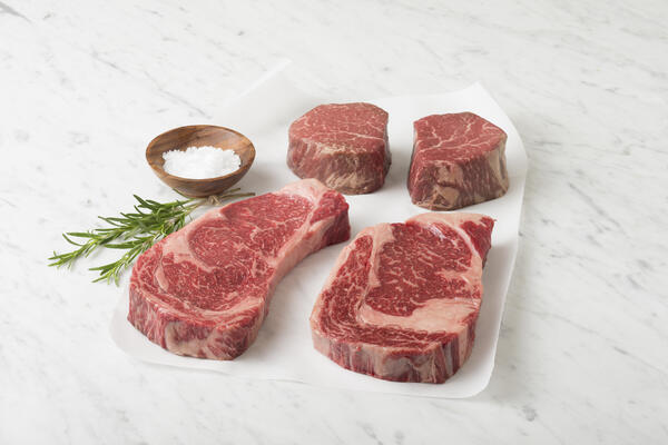All that marbling ... delicious