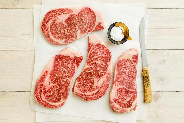 The amazing marbling of ribeye is unparalleled according to some.
